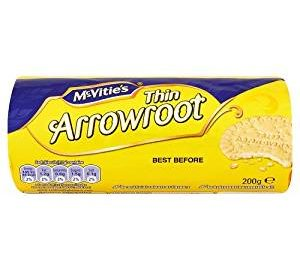 can rabbits eat arrowroot biscuits